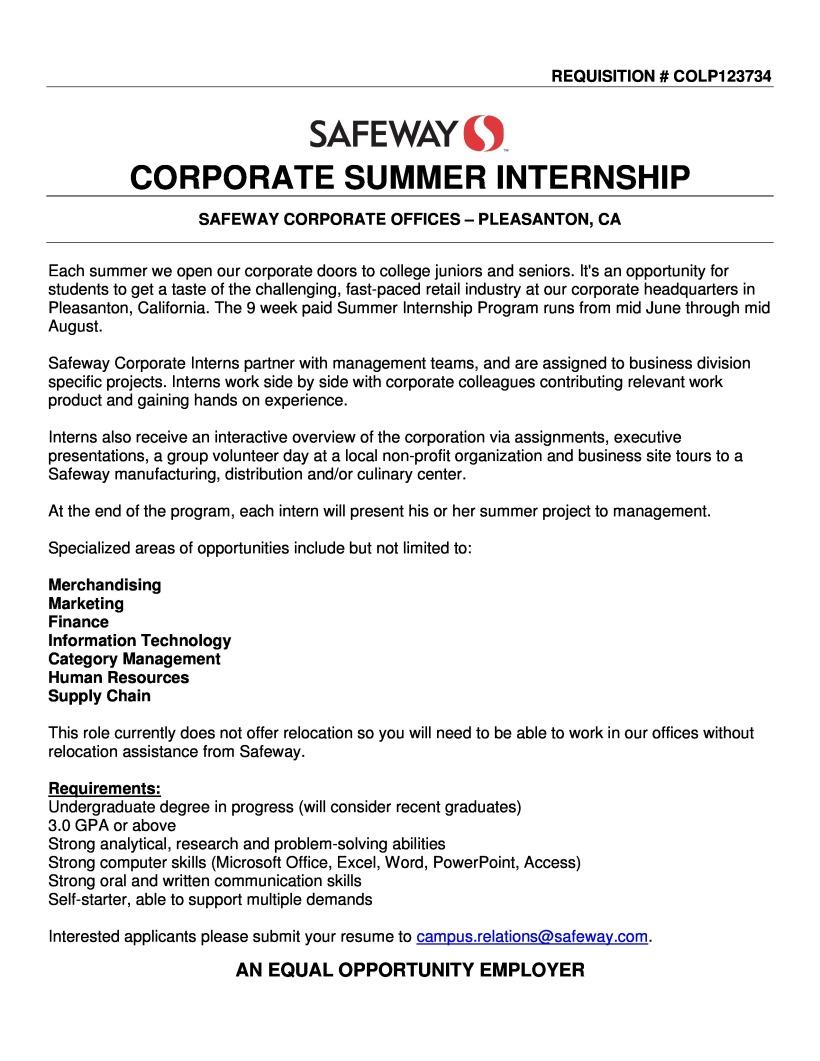 Summer Intern Job Description | Office Intern Job Description Ww Inyes Latino Com